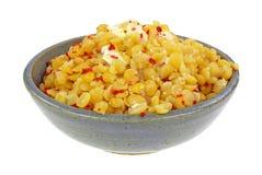 Yellow Split Peas Bacon Bits Butter Royalty Free Stock Photo