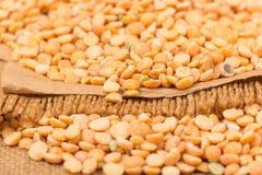 Yellow split peas Stock Image