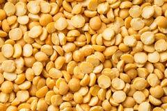 Yellow split peas. Royalty Free Stock Photos
