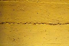 Yellow split stone texture Royalty Free Stock Images