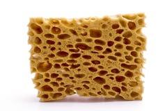 Yellow sponge Stock Photo