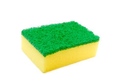Yellow sponge Stock Photography