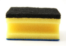 Yellow sponge Royalty Free Stock Photography