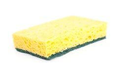 Yellow sponge Stock Images