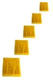 Yellow sponge. Stock Image