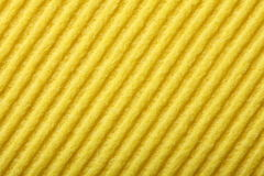 Yellow sponge foam as background texture Royalty Free Stock Photography