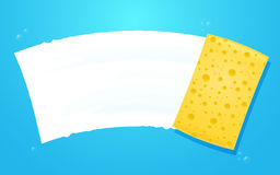 Yellow Sponge Stock Image