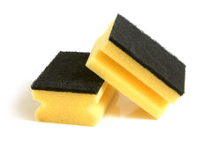 Yellow sponges Stock Photography