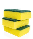 Yellow sponges Royalty Free Stock Photography