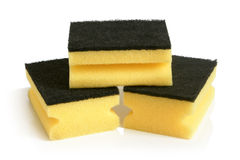 Yellow sponges Royalty Free Stock Photo