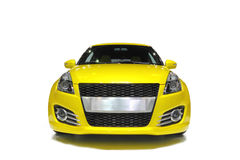 Yellow Sport Car Stock Photo