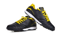 Yellow Sport shoes Stock Photo