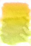 Yellow spot, watercolor abstract background Royalty Free Stock Photo