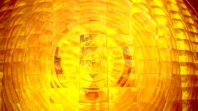 Yellow spotlight traffic light as background Stock Photos
