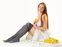 Yellow spring Stock Photos