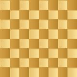 Yellow square abstract  background Royalty Free Stock Photography