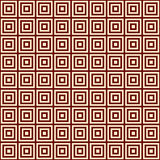 Yellow square on a bordo background endless east pattern Royalty Free Stock Photo