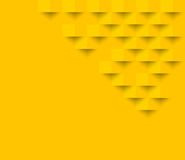 Yellow square geometric texture background  Abstract square geom. Etric texture.banner background web design  for infographics business finance Stock Images