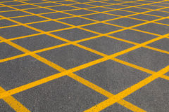Yellow Square Pattern Stock Image