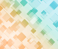 Yellow Squares Background Stock Photography