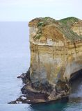 A yellow stack in the Great ocean Royalty Free Stock Images