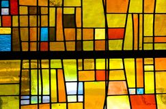Yellow, Stained Glass, Glass, Window stock photo