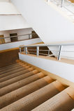 Yellow  stair Stock Photography