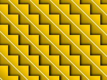 Yellow Stair step Background Royalty Free Stock Photography