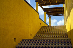 Yellow Stairs Royalty Free Stock Photo