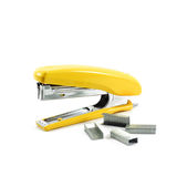Yellow stapler Stock Photos