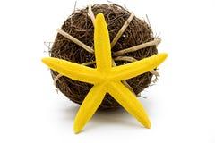 Yellow star Stock Photo