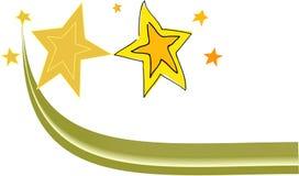 Yellow star Royalty Free Stock Photos
