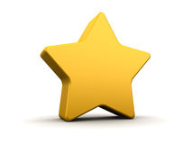 Yellow star Stock Photos