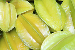 Yellow star fruit, sweet and delicious Stock Photography