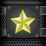 Yellow Star Royalty Free Stock Photos