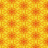 Yellow Star Pattern. A completely seamless pattern that will tile across the background area of your design royalty free stock photo