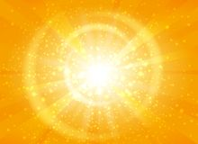 Free Yellow Starburst Background With Sparkles Stock Photos - 99797203