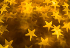 Yellow stars Royalty Free Stock Photo