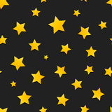 Yellow stars Royalty Free Stock Images