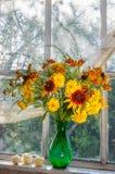 Yellow still life Stock Photography