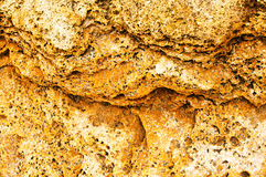 Yellow stone Royalty Free Stock Images