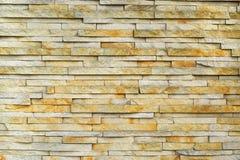 Yellow stone finishing Stock Photos