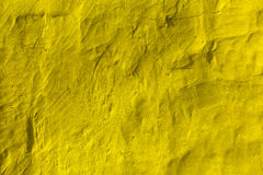 Yellow stone grunge background wall texture Stock Photos