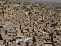 Yellow stone Jaisalmer Royalty Free Stock Photography