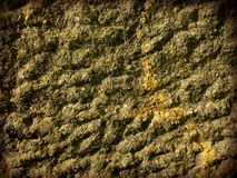 Gravel wall texture Royalty Free Stock Images
