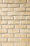 Yellow stone wall Royalty Free Stock Images