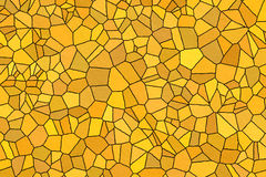 Yellow stone wall background. Yellow sharpe color stone texture wall at house Stock Photos