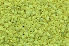 Yellow stones background. Royalty Free Stock Photography