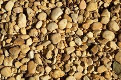 Yellow stones in the sun Stock Photo