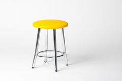 Yellow stool Royalty Free Stock Photography